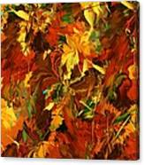 Autumn Burst Canvas Print