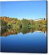 Autumn By The Lake 3 Canvas Print