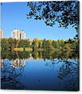 Autumn By The Lake 6 Canvas Print