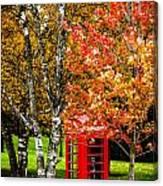 Autumn Call Canvas Print