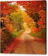 Autumn Cameo Canvas Print