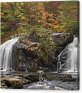 Autumn Cascades Canvas Print