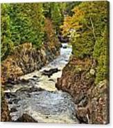 Autumn Channel Canvas Print