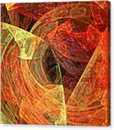 Autumn Chaos Canvas Print