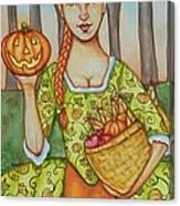 Autumn Colonial Canvas Print