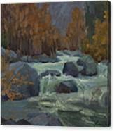 Autumn Color Blewitt Pass Canvas Print