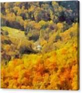 Autumn Colors In Shenandoah Canvas Print