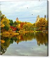 Autumn Colors - Nyc Canvas Print