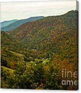 Autumn Comes To Appalachia  Canvas Print