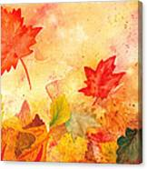Autumn Dance Canvas Print