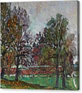 Autumn Day In Borodino Canvas Print
