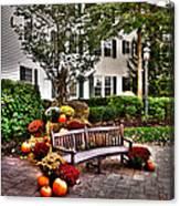 Autumn Display At The Sagamore Resort Canvas Print