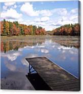 Autumn Dock Canvas Print