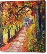 Autumn Dreams Canvas Print