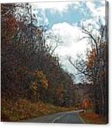 Autumn Drive2581 Canvas Print