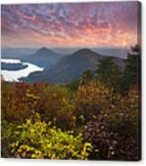 Autumn Evening Star Canvas Print