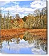 Autumn Fades Canvas Print