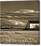 Autumn Farm II Canvas Print