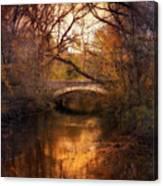 Autumn Finale Canvas Print