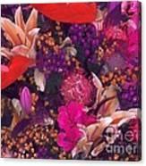 Autumn Flower Bouquet Canvas Print