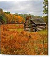 Autumn Foliage In Valley Forge Canvas Print