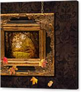 Autumn Frame Canvas Print
