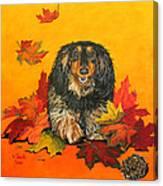 Autumn Fun Canvas Print