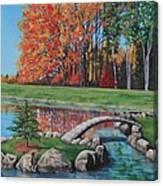 Autumn Glory At The Arboretum Canvas Print