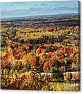 Autumn Glory Landscape Canvas Print
