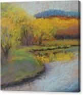 Autumn Glow At Catfish Corner Canvas Print