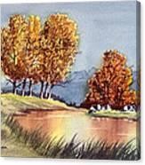 Autumn Golds Canvas Print