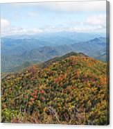 Autumn Great Smoky Mountains Canvas Print