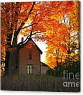 Autumn Haunt Canvas Print