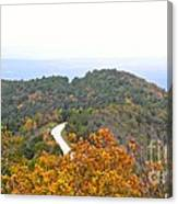 Autumn Horizon Canvas Print