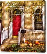 Autumn - House - A Hint Of Autumn  Canvas Print