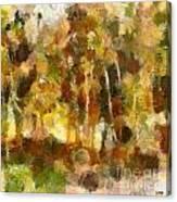 Autumn Impression 1 Canvas Print