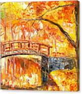 Autumn Impression Canvas Print