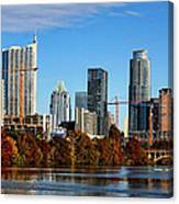 Autumn In Austin Canvas Print
