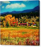 Autumn In Colorado Canvas Print