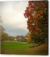Autumn In Connecticut. Canvas Print