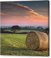 Autumn In Cornwall Canvas Print