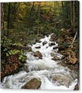 Franconia Notch In Autumn  Canvas Print