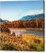 Autumn In Montana Canvas Print