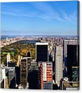 Autumn In New York City Canvas Print