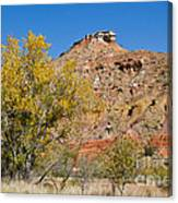 Autumn In Palo Duro Canyon 110213.119 Canvas Print