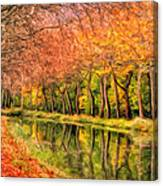 Autumn In Provence Canvas Print