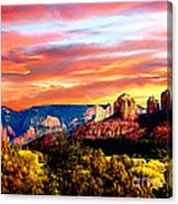 Autumn In Red Rock State Park Canvas Print