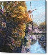 Autumn In Schiedam Canvas Print
