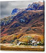 Autumn In Scotland In Dornie Canvas Print