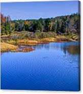 Autumn In The Adirondacks II Canvas Print